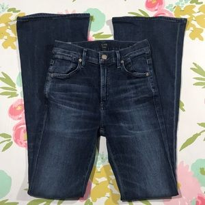 CofH Fleetwood High Rise Flare boho jeans 25 25x32